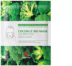 Духи, Парфюмерия, косметика Увлажняющая маска «Брокколи» - Leader Coconut Bio Mask With Broccoli