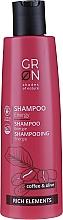 Духи, Парфюмерия, косметика Шампунь для волос - GRN Rich Elements Coffee & Olive Energy Shampoo
