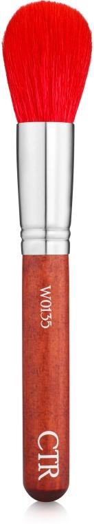 Кисть для пудры из ворса песца, W0135 - CTR