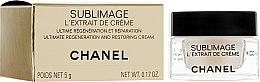 Духи, Парфюмерия, косметика Крем-экстракт для восстановления и регенерации кожи лица, шеи и зоны декольте - Chanel Sublimage L'Extrait De Creme Ultimate Regeneration And Restoring Cream (мини)