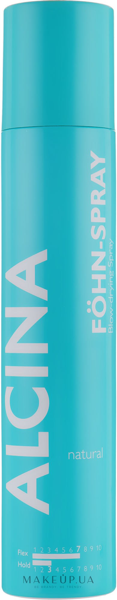 Спрей-аэрозоль для укладки феном - Alcina Styling Natural Föhn-Spray Spray — фото 200ml