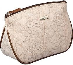 Парфумерія, косметика Жіноча косметичка Lace, 98604, світло-коричнева - Top Choice