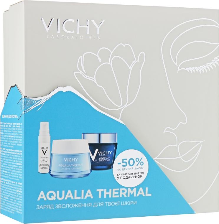 Набор - Vichy Aqualia Thermal (cr/gel/50ml + night/cr/75ml + gel/4ml)