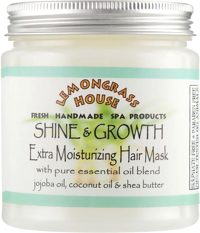 """Маска для волос """"Для роста и блеска"""" - Lemongrass House Shine & Growth Mask"""