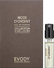 Духи, Парфюмерия, косметика Evody Noir d'Orient - Парфюмированная вода (пробник)