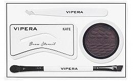 Духи, Парфюмерия, косметика Набор для стилизации бровей - Vipera Celebrity Eyebrow Definer Kit