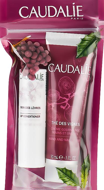 "Набор ""Дуэт The Des Vignes"" - Caudalie (lip/balm/con/4.5g + cr/30ml)"