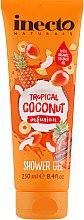 Духи, Парфюмерия, косметика Тропический гель для душа с маслом кокоса - Inecto Naturals Tropical Coconut Shower Gel