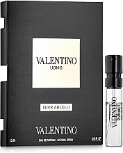 Духи, Парфюмерия, косметика Valentino Uomo Noir Absolu - Парфюмированная вода (пробник)