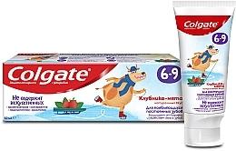 """Парфумерія, косметика Дитяча зубна паста """"Получниця-м'ята"""" з фторидом, 6-9 років - Colgate"""