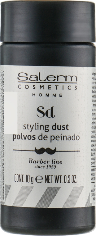 Пудра для объема - Salerm Homme Volume Dust