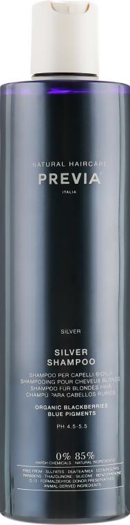 "Шампунь ""Серебряный блеск"" - Previa Blackberry Silver Shampoo"