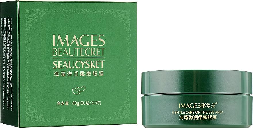Гидрогелевые патчи для глаз с экстрактом водорослей - Images Alga Lady Series Eye Mask