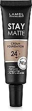 Духи, Парфюмерия, косметика Матовый тональный крем для лица - Lamel Professional Stay Matte Cream Foundation