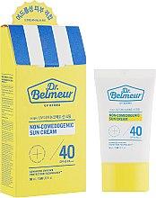 Духи, Парфюмерия, косметика Солнцезащитный крем для проблемной кожи - The Face Shop Dr. Belmer UV Derma Non Comedogenic Sun Cream SPF40 PA+++