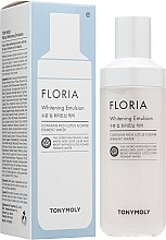 Духи, Парфюмерия, косметика Отбеливающая эмульсия для всех типов кожи - Tony Moly Floria Whitening Emulsion