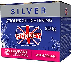 Духи, Парфюмерия, косметика Пудра для осветления волос с аргановым маслом - Ronney Dust Free Bleaching Powder With Argan
