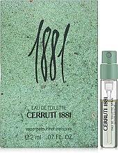 Духи, Парфюмерия, косметика Cerruti 1881 Pour Homme - Туалетная вода (пробник)