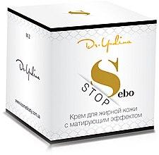 Духи, Парфюмерия, косметика Крем для жирной кожи с матирующим эффектом - Dr. Yudina Sebo Stop