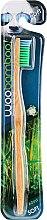 Духи, Парфюмерия, косметика Зубная щетка мягкая, зеленая - Woobamboo Adult Standard Handle Toothbrush Soft
