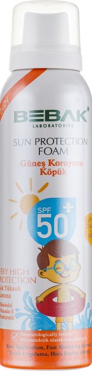 Детская солнцезащитная пенка - Bebak Laboratories Very High Protection Sun Foam SPF50