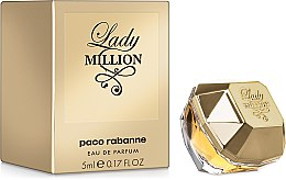 Духи, Парфюмерия, косметика Paco Rabanne Lady Million - Парфюмированная вода (мини)