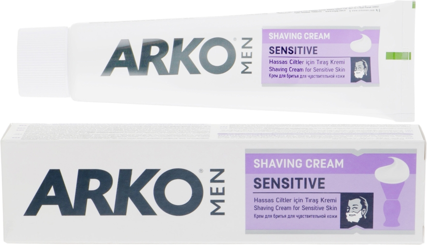 "Крем для бритья ""Sensitive"" - Arko Men"