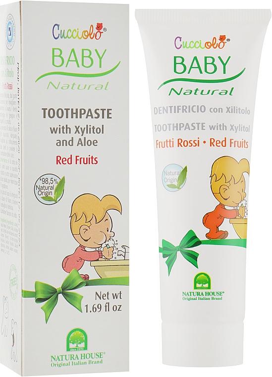 Зубная паста «Красные ягоды» - Natura House Baby Cucciolo Toothpaste