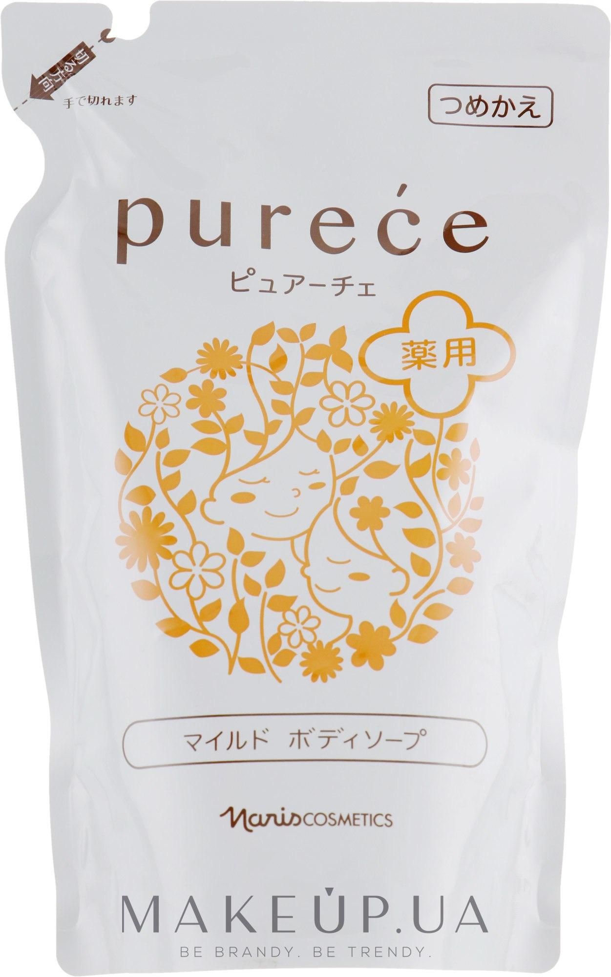 Гипоаллергенное жидкое мыло для тела - Naris Purece (дой-пак) — фото 450ml