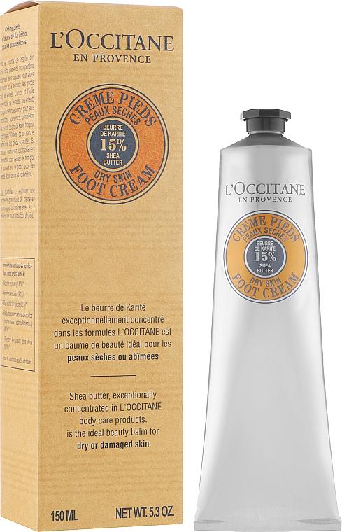 Крем для ніг - l'occitane Shea Butter Foot Cream — фото N4