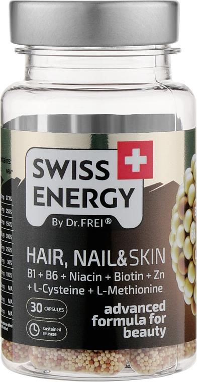 "Витамины в капсулах ""Волосы, ногти и кожа"" - Swiss Energy Hair, Nail & Skin"