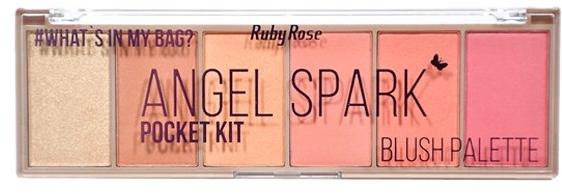 Палетка румян - Ruby Rose Angel Spark Pocket Kit
