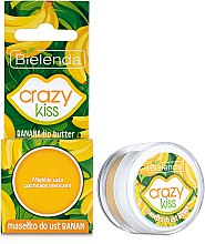 "Масло для губ ""Банан"" - Bielenda Crazy Kiss Lip Butter Banana — фото N1"