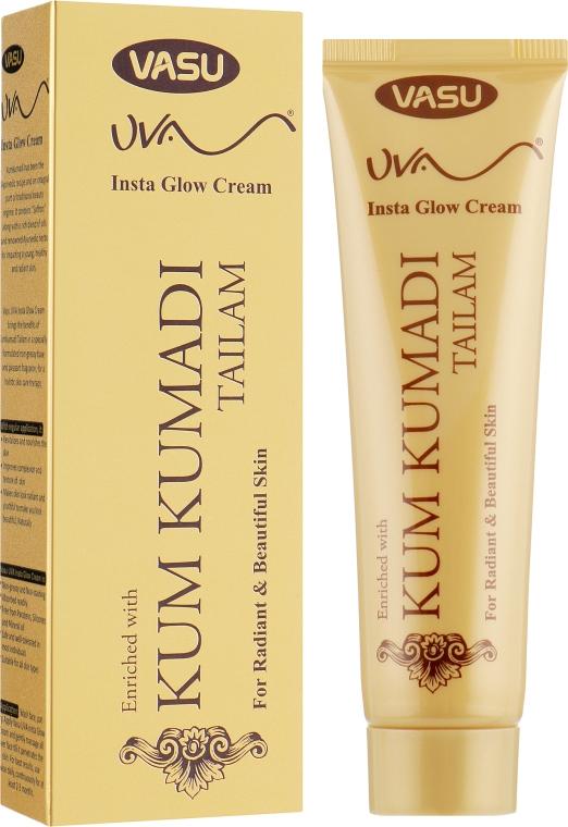 Омолаживающий крем для лица с маслом кумкумади - Vasu UVA Insta Glow Cream