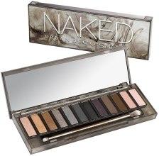 Духи, Парфюмерия, косметика Палетка теней для век, 12 оттенков - Urban Decay Naked Smoky Eyeshadow Palette (тестер)