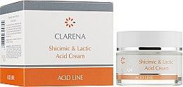 Духи, Парфюмерия, косметика Крем с шикимовой и молочной кислотами - Clarena Lactic Acid Shicimic & Cream