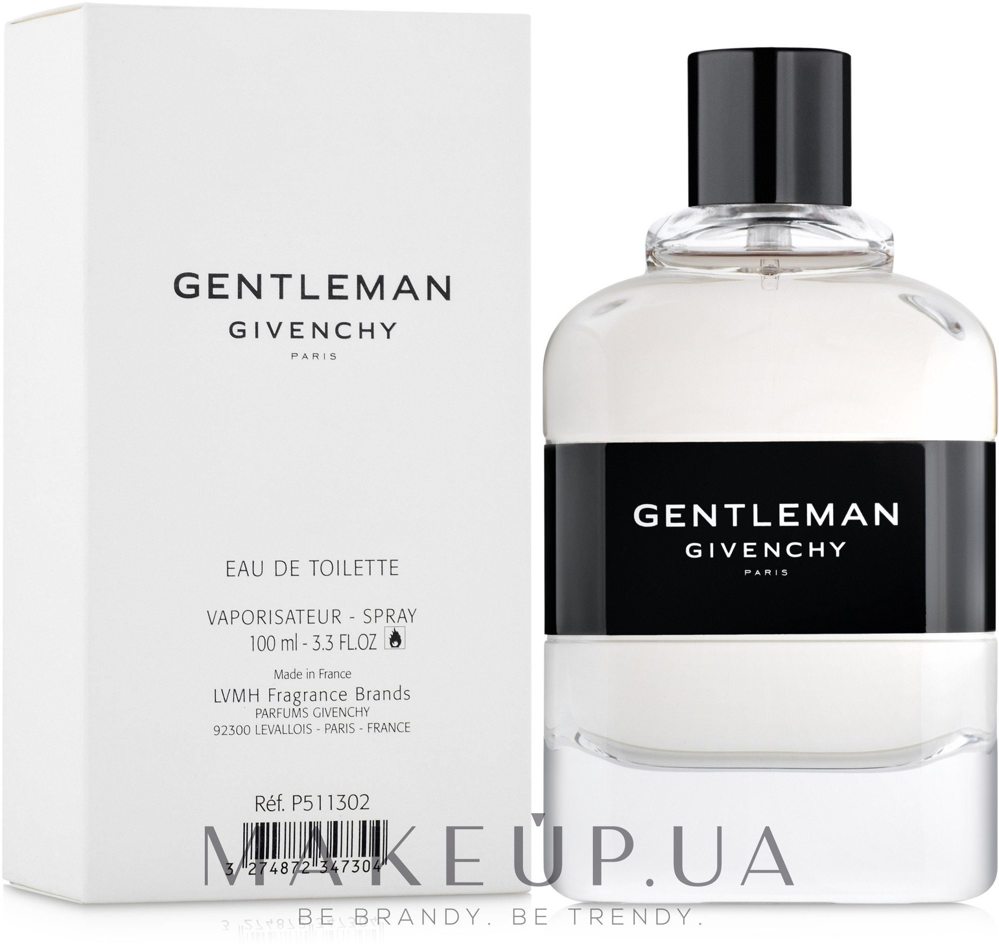 Givenchy Gentlemen 2017 - Туалетная вода (тестер с крышечкой) — фото 100ml