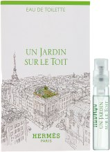 Духи, Парфюмерия, косметика Hermes Un Jardin sur le Toit - Туалетная вода (пробник)