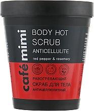 "Разогревающий скраб для тела ""Антицеллюлитный"" - Cafe Mimi Body Hot Scrub Anticellulite — фото N1"