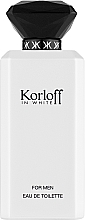 Духи, Парфюмерия, косметика Korloff Paris Korloff In White - Туалетная вода