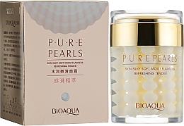 Духи, Парфюмерия, косметика Увлажняющий крем с натуральной жемчужной пудрой - Bioaqua Pure Pearls Cream