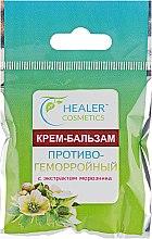 Крем-бальзам противогеморройный к экстрактом морозника - Healer Cosmetics — фото N1