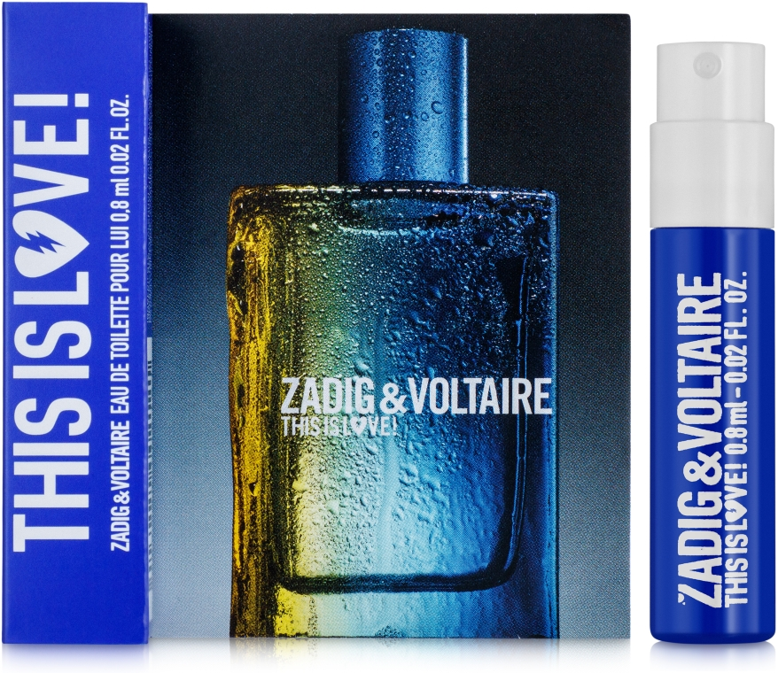 Zadig & Voltaire This is Love! for Him - Туалетная вода (пробник)