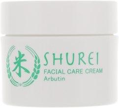 Духи, Парфюмерия, косметика Отбеливающий крем для лица с арбутином - Shurei Facial Care Cream Arbutin