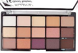 Духи, Парфюмерия, косметика Палетка теней для век - DoDo Girl 15 Colors Eyeshadow Palette