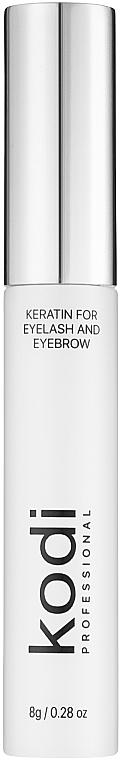 Кератин для ресниц и бровей - Kodi Professional Keratin for Eyelashes and Eyebrows