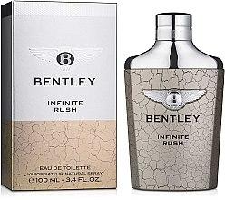 Духи, Парфюмерия, косметика Bentley Infinite Rush - Туалетная вода