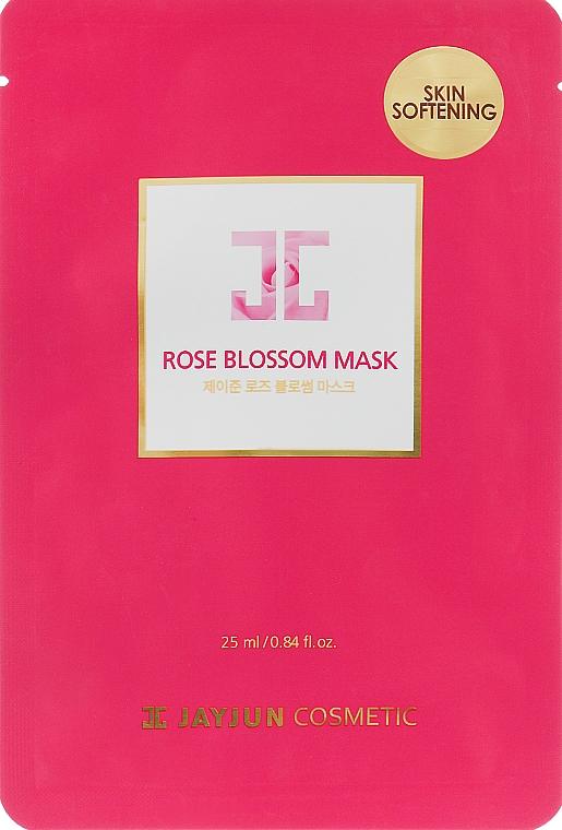 Маска для лица с розовой водой - Jayjun Rose Blossom Mask