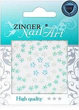 Духи, Парфюмерия, косметика Наклейки для дизайна ногтей, fda-208 - Zinger Nail Art Sticker
