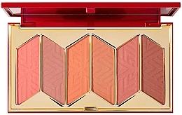 Духи, Парфюмерия, косметика Палетка румян - Pur X Barbie Malibu Blush Signature 6-Piece Blush Palette